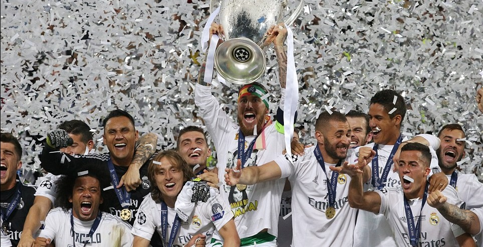 Real Madrid 2016 Champions League Winners